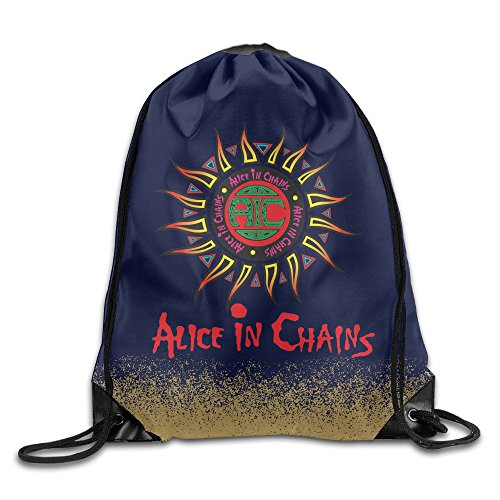 Alice In Chains Jar Of Flies White Travel Drawstring Tote (Alice In Chains Man In The Box Live)