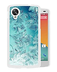 Ice Pattern Green Snow Nauture Christmas (2) Durable High Quality Google Nexus 5 Case