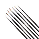 Detail Painting Brush Set - 7 Miniature Brushes - Best Reviews Guide