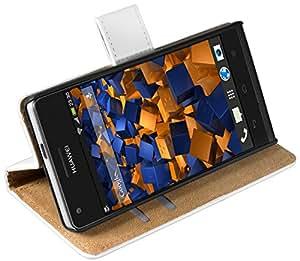 Mumbi funda de piel estilo libro para Huawei subir P7 mini bolso blanco