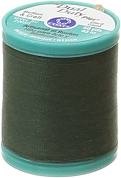 50 Yards Black Singer 67110 Button and Carpet Thread