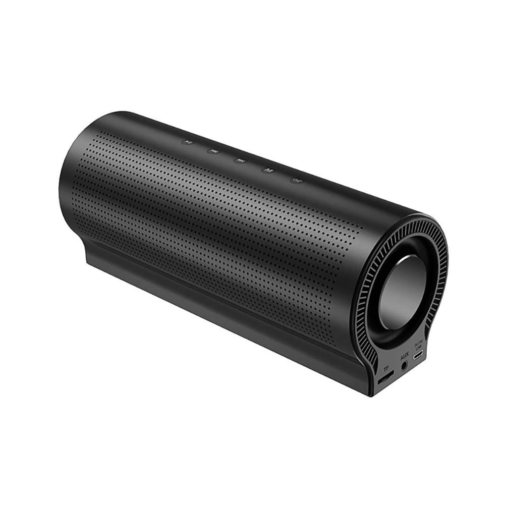 スピーカー M2 Bluetooth 自宅で大音量 360° サラウンドサウンドをお楽しみください アウトドアや旅行に 2018年モデル 最大18Wポータブルステレオ 最高の低音 ブルートゥース ワイヤレススピーカーフォン付き 16GTFカード B07QGNDH7X