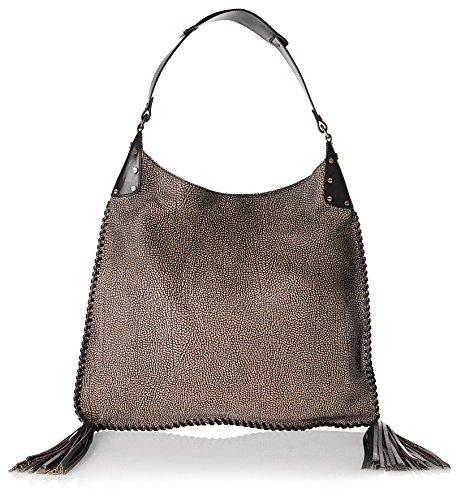 BORBONESE Bag Hand Strap 963Quarter OPLA 'Make-Up/Black