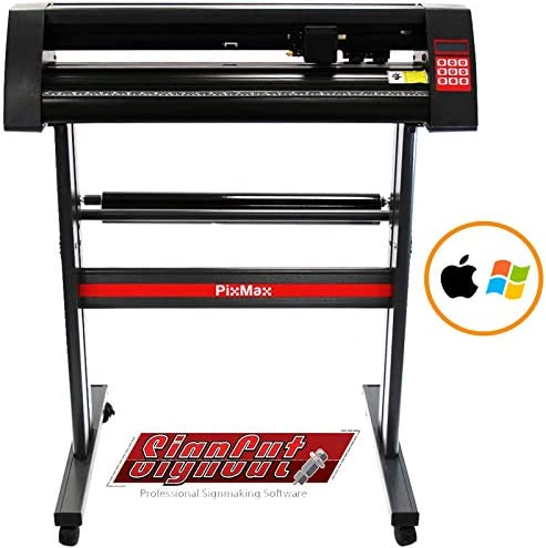 PixMax plotter de vinilo de corte 72cm compatible con mac y windows y el software pro signcut: Amazon.es: Bricolaje y herramientas