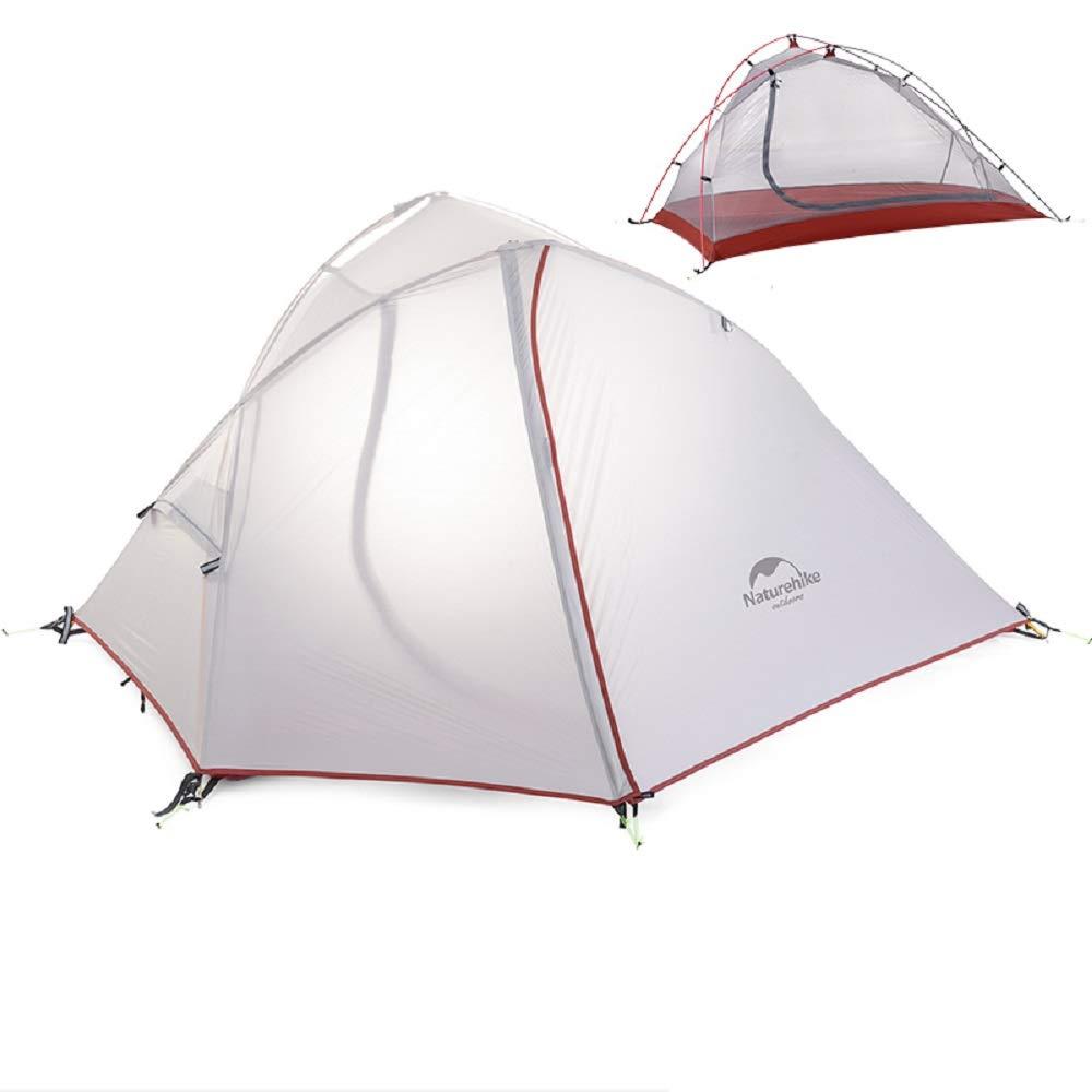 Wind-Wing 1-2 Personen-Zelt Wandern Camping-Zelt Ultra 20D/210T Stoff NH16S012-S