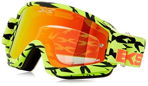 EKS Scatter X Series Masque de Motocross Mixte Adulte, Jaune