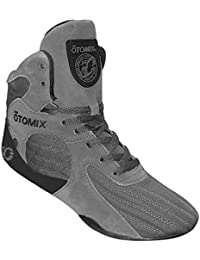 Grey Stingray Escape Bodybuilding Weightlifting MMA & Boxing Shoe Men's