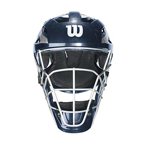 Wilson Pro Stock Catcher's Mask, Navy, Large/X-Large ()