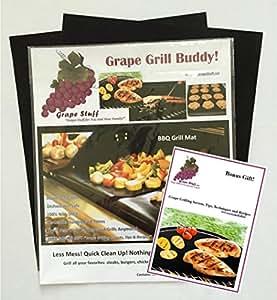 Grape Grill Buddy BBQ Grill Mat