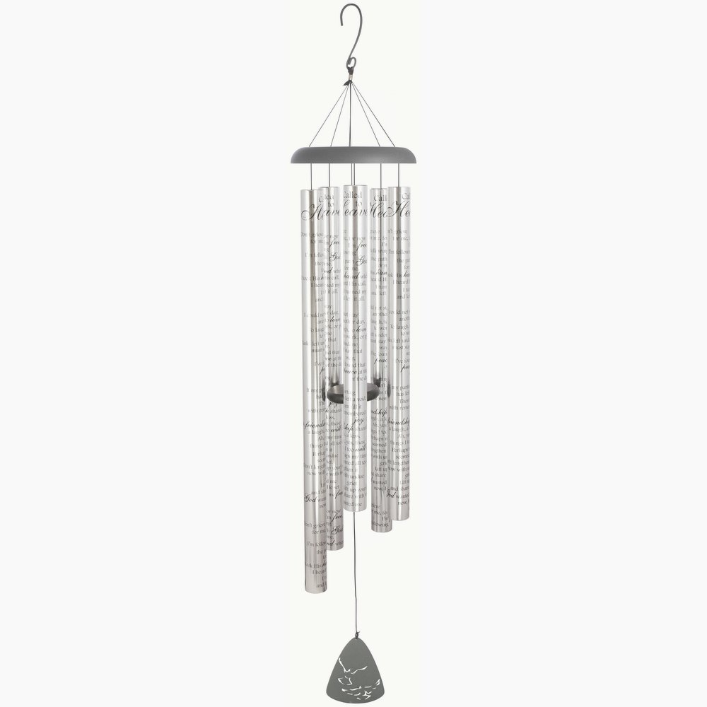 Carson Home Accents Sonnet Wind Chime, Called to Heaven, 55'' Long