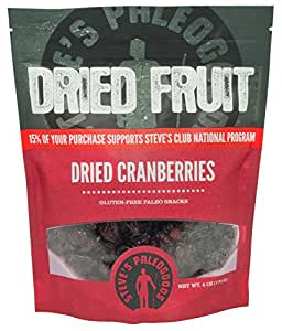 Paleogoods Dried Cranberries, 6 oz