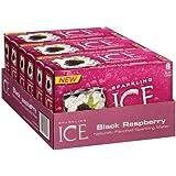 Sparkling Ice Fridge Pack, Black Raspberry, 8 Count (Pack of 3)