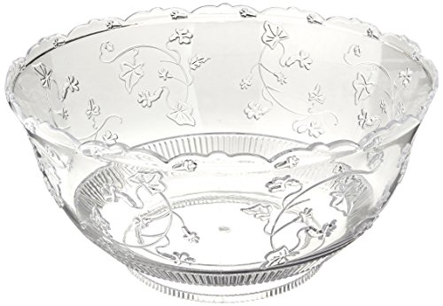 Party Dimensions 8 Quart Clear Punch Bowl ()