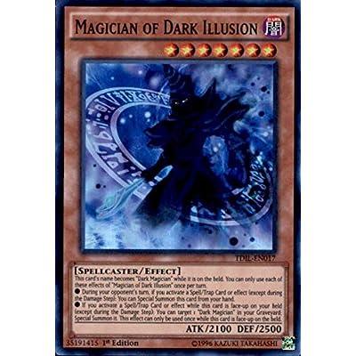 Yu-Gi-Oh! - Magician of Dark Illusion (TDIL-EN017) - The Dark Illusion - 1st Edition - Super Rare