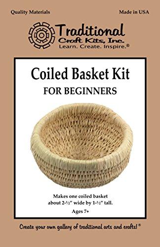 [해외]초보자를위한 코일 바구니 키트/Coiled Basket Kit for Beginners