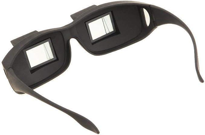 Gafas periscópicas - prismático - visión Horizontal - Prisma para Leer acostado en la Cama o en la Playa - Hombre y Mujer Unisex - Nuevo Modelo - ...