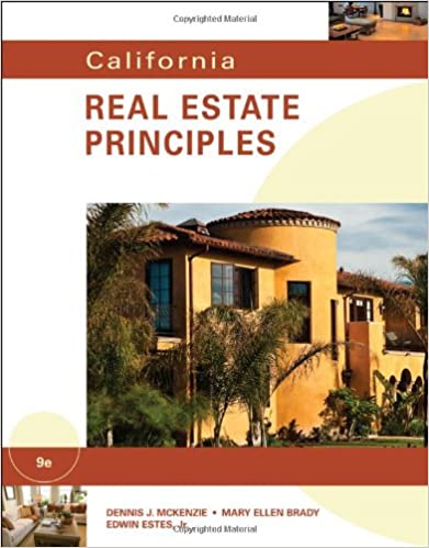 California Real Estate Principles Pdf