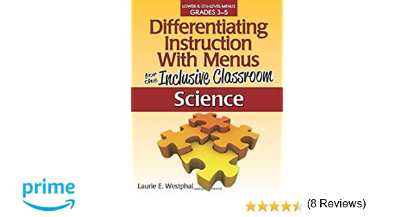 Amazon.com: Differentiating Instruction with Menus for the ...