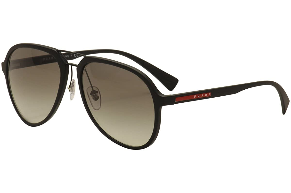 Prada Linea Rossa 0PS 05RS Gafas de Sol, Black Rubber, 58 ...