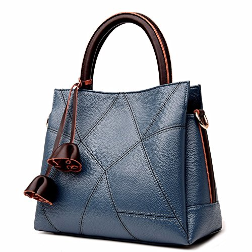 Hecho azul a Rojo Crossbody Bag Mano de Mano Bolso CCZUIML qwZHzgxXw