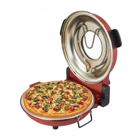 Kalorik PZM 43618 R Red High Heat Stone Pizza Oven