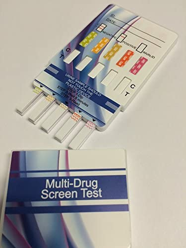 Amazon Com 10 Panel Dip Drug Testing Kit Test For 10 Different Drugs 2 Pack Health Personal Care