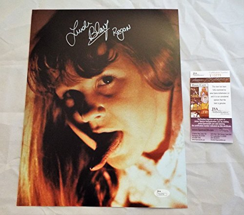 Linda Blair Signed / Autographed Regan from The Exorcist 11x14 Photo Inscribed Regan ..JSA COA (2)]()