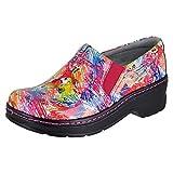Klogs Footwear Women's Naples Aviary Patent Clog/Mule