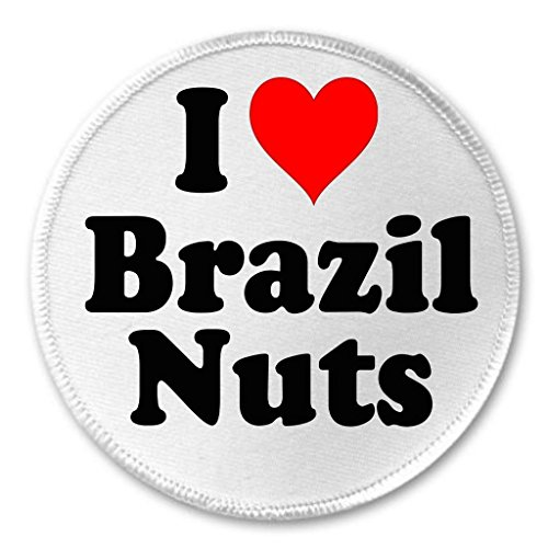 A&T Designs Unisex - I love Brazil Nuts 3