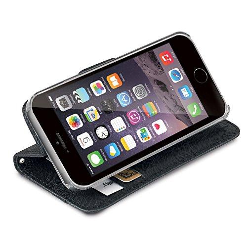 Celly Onda Case Schutzhülle für Apple iPhone 6 schwarz