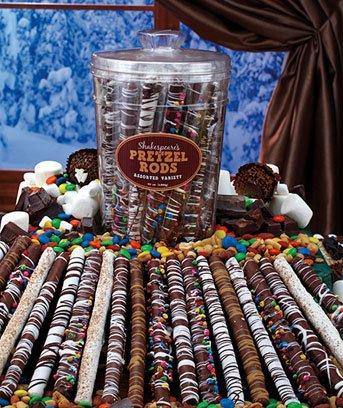 Tasty Assorted Gourmet Pretzel Tub, 20 Count (Chocolate Covered Pretzel Sticks compare prices)