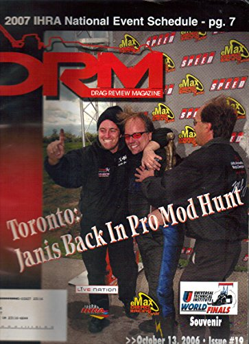 (DRM - Drag Review Magazine, Set Lot of 6 Issues, September October (2005 - 2006))