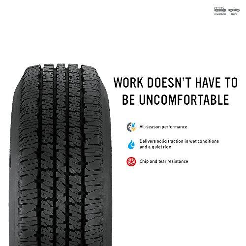 Firestone Transforce HT Radial Tire - 8.75R16.5 115R by Firestone (Image #1)