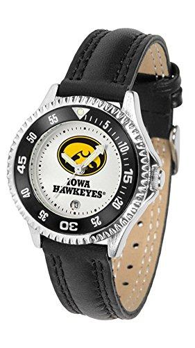 Iowa Hawkeyes Women's Leather Sports Watch