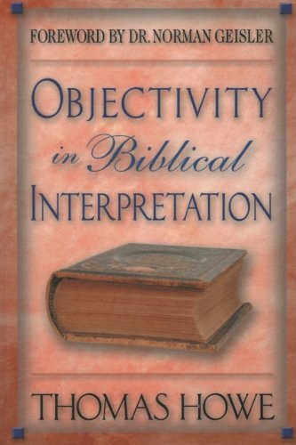 Objectivity in Biblical Interpretation pdf
