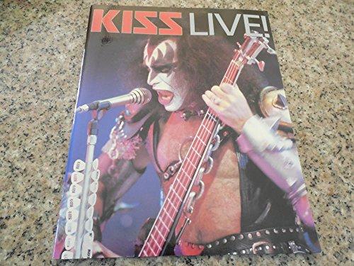 Kiss Live Book Omnibus Press 1996 MINT