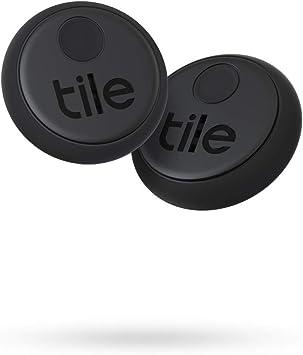 Tile Sticker 2020 Bluetooth Schlüsselfinder 2er Pack 45m Reichweite Bis 3 Jahre Batterielaufzeit Inkl Community Suchfunktion Ios Und Android App Kompatibel Mit Alexa Und Google Home Schwarz Navigation