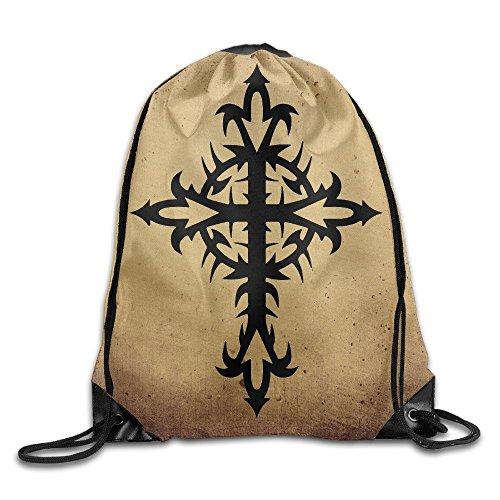 Blackhawk Phoenix Pack (Tribal Cross Tattoos Drawstring Backpack Bag Gym Sack)