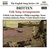 The English Song Series 10: Britten