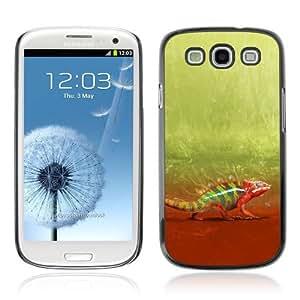 YOYOSHOP [Happy Chamelefon Cute Walk] Samsung Galaxy S3 Case