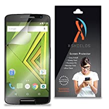 XShields© (4-Pack) Screen Protectors for Motorola Moto X Play (Ultra Clear)