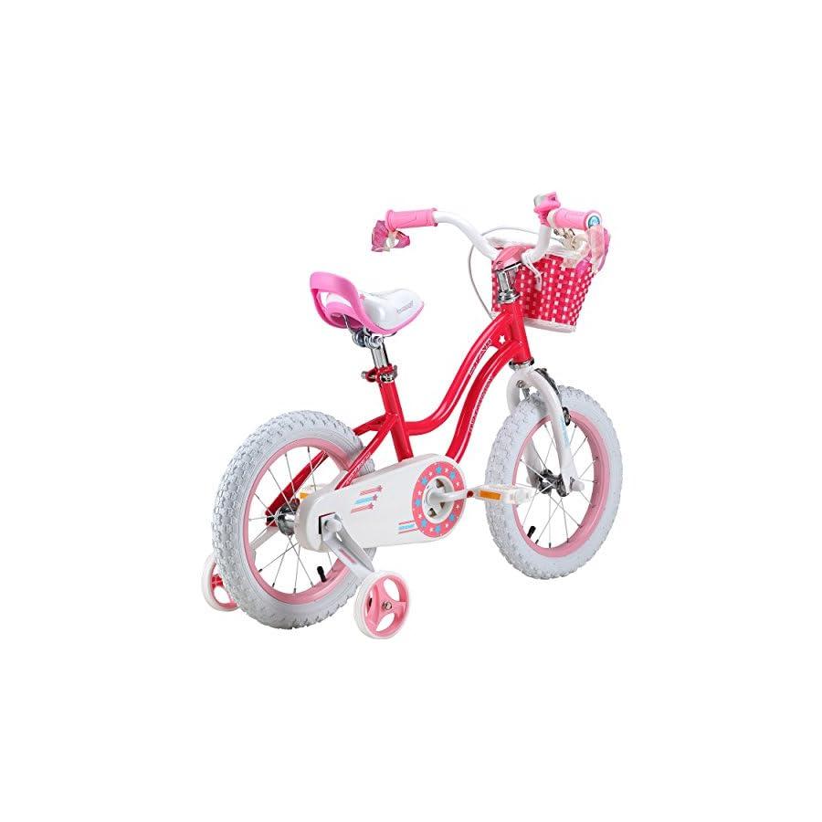Royalbaby Stargirl Girl's Bike, 14 inch wheels, Pink