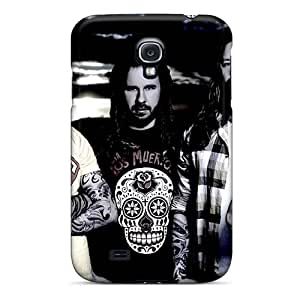 Bumper Hard Cell-phone Case For Samsung Galaxy S4 (EaZ15981yWwH) Customized HD In Flames Band Skin