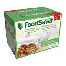 FoodSaver Rectangular Canister with Cheese Grater