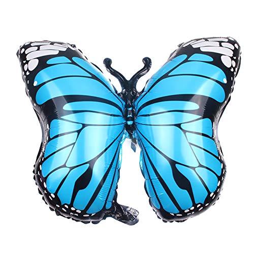 Qifumaer 1 Pcs Bright Butterfly Balloon 27.5