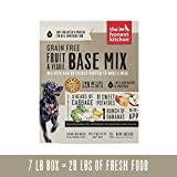 Image of The Honest Kitchen Grain Free Fruit & Veggie Base Mix Recipe for Dogs, 7lb box