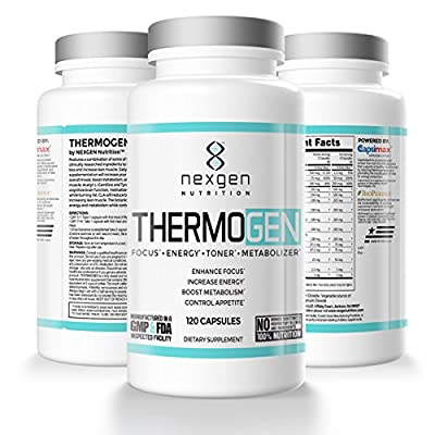 NEXGENutrition Thermogen Dietary Supplement - 120 Capsules