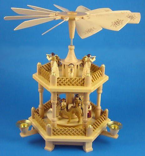 Richard Glaesser 2 Level Nativity Pyramid Germany