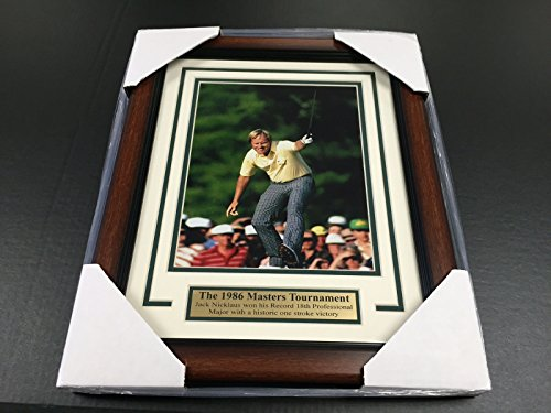 11x14 FRAMED JACK NICKLAUS 1986 MASTERS CHAMPION 8X10 PHOTO Jack Nicklaus 1986 Masters