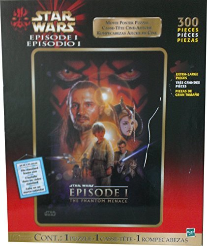 Used, Star Wars Episode 1 Movie Teaser Poster Puzzle (300 for sale  Delivered anywhere in USA